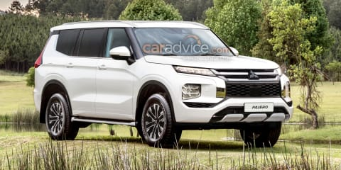 2022 Mitsubishi Pajero imagined as next-gen four-wheel-drive
