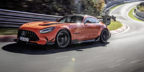 2021 Mercedes-AMG GT Black Series breaks Nurburgring production lap record