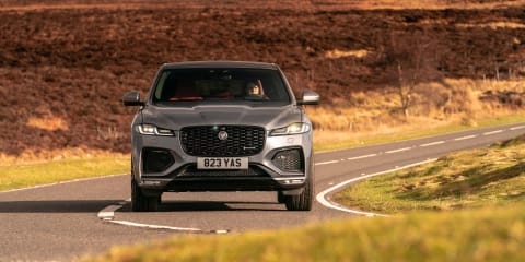 2021 Jaguar F-Pace P400 international first drive