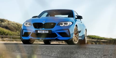 2021 BMW M2 CS track review