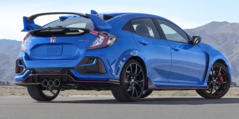 2020 Honda Civic Type R facelift unveiled