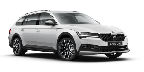 2020 Skoda Superb Scout coming with petrol particulate filter