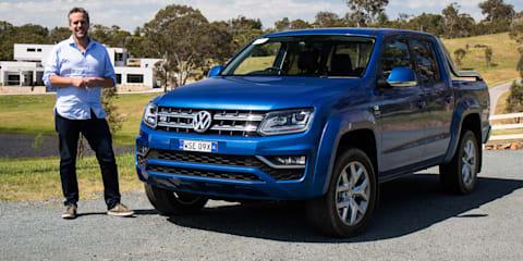 2017 Volkswagen Amarok V6 review