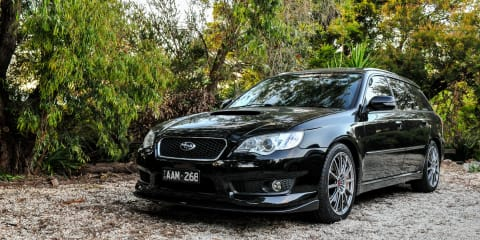 2007 Subaru Liberty GT-B Tuned By STI review