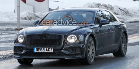 2020 Bentley Flying Spur Hybrid spied