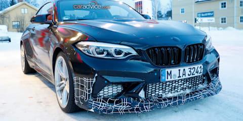 2019 BMW M2 CS spied