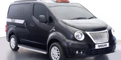 Nissan NV200 Taxi for London gets black cab makeover