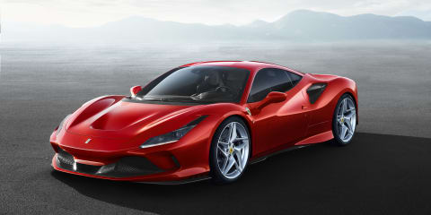 Ferrari F8 Tributo unveiled