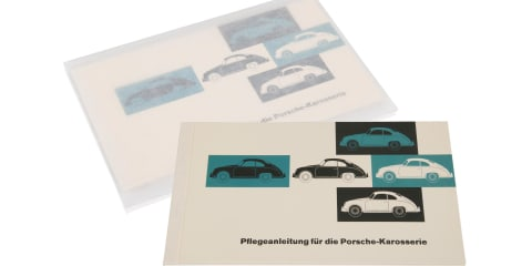 Porsche re-issues classic owner manuals