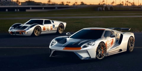 Video: Ford GT Heritage Edition revealed