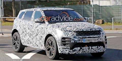 2019 Range Rover Evoque interior spied