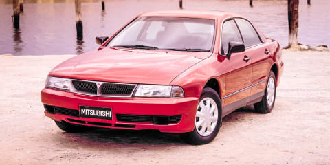 1998 Mitsubishi Magna Sports review