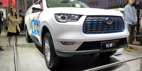 Great Wall electric ute headed Down Under