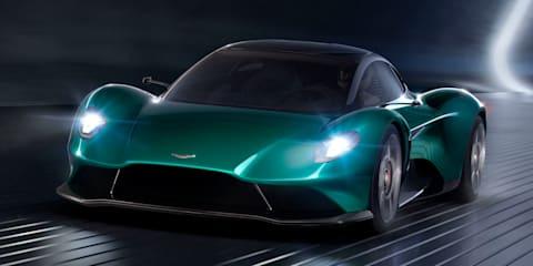 Aston Martin Vanquish Vision Concept revealed