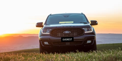 2020 Ford Everest Sport pricing and specs