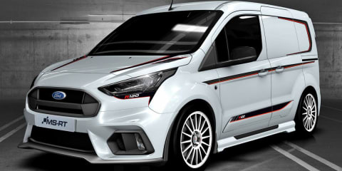 Ford reveals limited-edition MS-RT R120 Transit