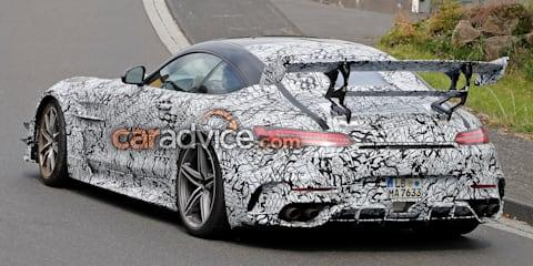 2020 Mercedes-AMG GT Black Series spied
