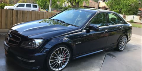 2013 Mercedes-Benz C63 AMG review