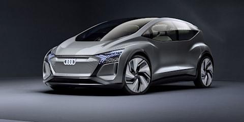 Audi AI:ME e-tron concept looks to autonomous future