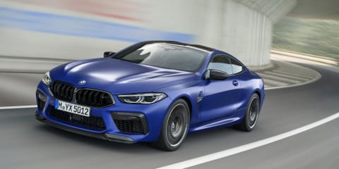 2020 BMW M8 Competition pricing and specs
