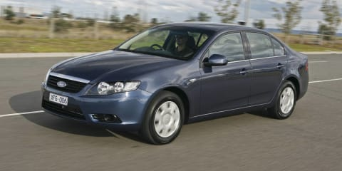 Ford Falcon, Territory go four-cylinder, diesel