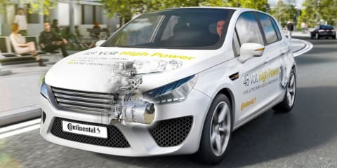 Continental develops 'full-hybrid' 48V tech