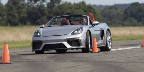 Video: Teenager breaks world record in Porsche 718 Spyder