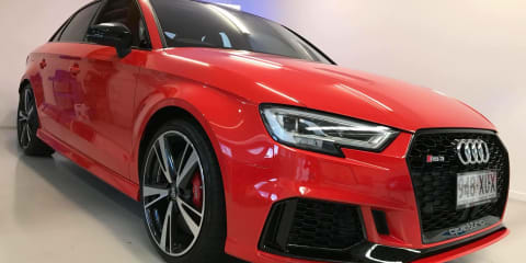 2017 Audi RS3 quattro review