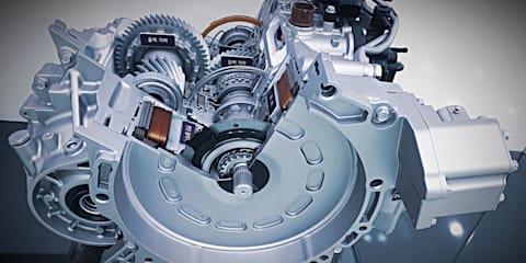 Hyundai reveals new hybrid transmission