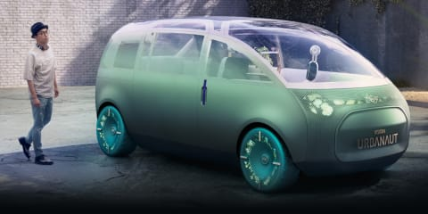 Mini Vision Urbanaut concept revealed as a maxi personal space