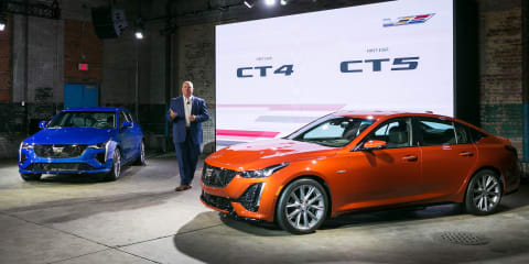 2020 Cadillac CT4-V and CT5-V revealed