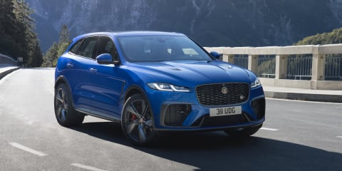2021 Jaguar F-Pace SVR price and specs: High-performance SUV updated