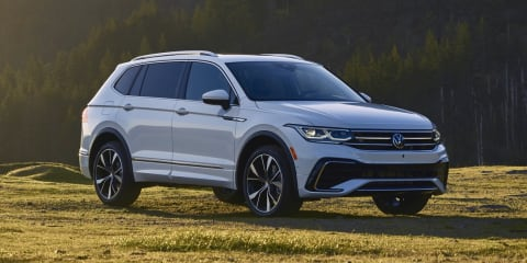 2022 Volkswagen Tiguan Allspace facelift revealed, Australian launch due early 2022