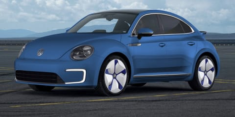 Volkswagen e-Beetle and e-Karmann names trademarked
