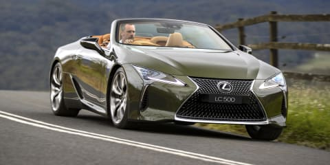 2021 Lexus LC500 Convertible review