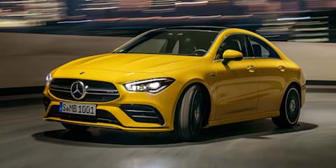 2020 Mercedes-AMG CLA35 revealed