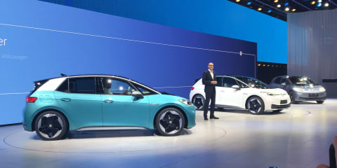 Volkswagen ID.3 unveiled: Up to 550km range, in Australia from 2022