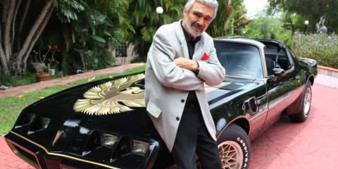Pontiac Trans Am signed by Burt Reynolds listed as lottery prize