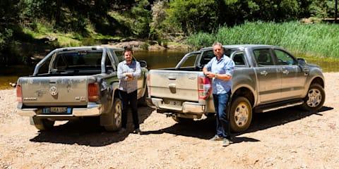 2017 Ford Ranger XLT vs Volkswagen Amarok V6