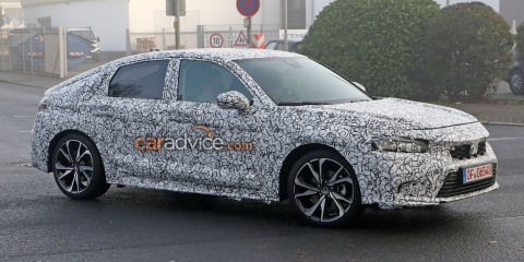 New Honda Civic hatch spy photos