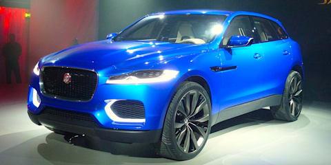 Jaguar SUV: C-X17 concept revealed