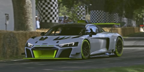 Audi R8 LMS GT2 debuts in Goodwood