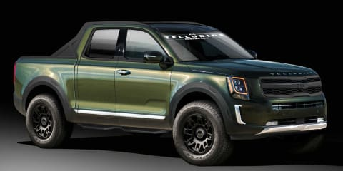 Kia pickup development underway