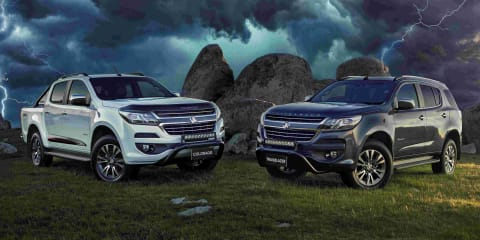 2019 Holden Trailblazer and Colorado Storm revealed