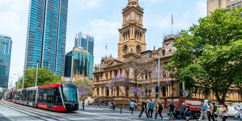 Sydney speed limits reduced around new light rail trams