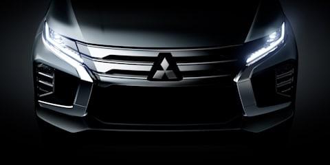 2020 Mitsubishi Pajero Sport update teased