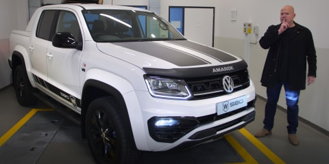 Video: 2021 Volkswagen Amarok W580 revealed