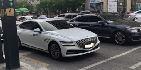 New Genesis G80 hits the road … as a taxi