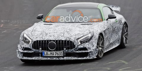 2020 Mercedes-AMG GT R Black Series spied