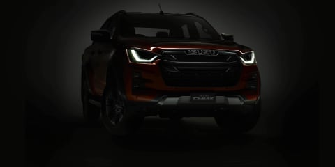 2021 Isuzu D-Max teased as orders open ahead of launch